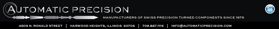 Automatic Precision - Manufacturers of Swiss Precision Parts since 1976